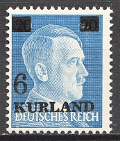 1945 Germany Occupation of Kurland