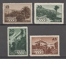 1946 USSR Sanatoriums of the USSR (Full Set, MNH/MVLH)