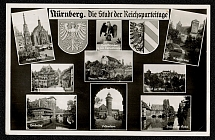 1936 Nuremberg the city of the Nazi Party Rallies