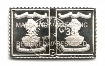 1900 Cape of Good Hope (Sterling Silver Miniature, Greatest Stamps of The World)