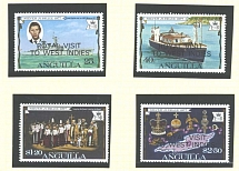 Collections/Mixed Lots 1977 Royal Visit commonwealth omnibus set um [65 stamps/M