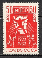 1932 USSR Anniversary of International Help for Working Association (Full Set)