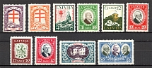 1930 Latvia (CV $30, Full Set)