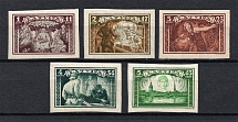 1932 Latvia (Imperforated, Full Set, CV $25, MNH/MH)