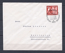 1943 Third Reich cover with special postmark Munich