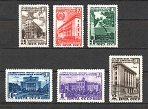 1950 USSR 10th Anniversary of the Latvian SSR (Full Set, MNH)