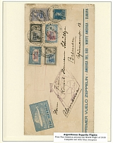 Argentina - Zeppelin Flights Collection 1930-32, 7 nice covers