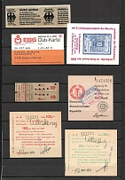 1974-1989 Germany Tickets and Club Cards