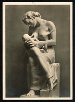 "1937 Sculpture Josef Thorak ""Mother with Child"""