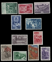 Soviet Union 1948, Young Pioneers and Young Communists two sets of five and six