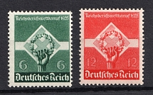 1935 Third Reich, Germany (Full Set, CV $30, MNH)