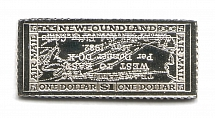 1932 Newfoundland (Sterling Silver Miniature, Greatest Stamps of The World)