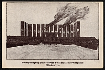 1933 Laying of the foundation stone of the House of German Art. Munich