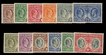 Cayman Islands, 1932, Kings William IV and George V, Centenary issue, cplt set