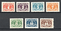 1925 USSR Gold Definitive Issue (With Watermark, Full Set)