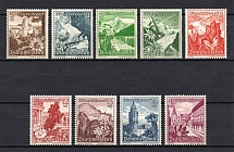 1938 Third Reich, Germany (Full Set, CV $130, MNH)