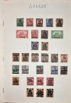 A set of Danzig stamps - 232 pcs., Mint Hinged / used Mainly English-speaking, C