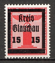1945 Glauchau Germany Local Post `15` (MNH)