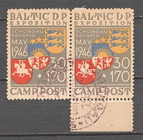 1946 Baltic Dispaced Persons Camp Schongau Expostition (Cancelled)