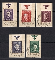 1942 General Government, Germany (Eagle on the Field, Full Set, Canceled)