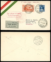 Vatican City First and Pioneer Flights April 1-2, 1931, Rome-Berlin via Munich