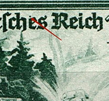 1944 16pf Third Reich, Germany (Mi. 891 III, Dot above `e`, Print Error, Control Number `8,00`, Pair, CV $110, MNH)