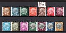 1933 Third Reich, Germany (Mi. 482-495, Signed, Full Set, CV $1,400, MNH)
