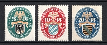 1925 Third Reich, Germany (Full Set, CV $60, MNH)