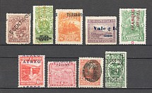 Latin America Displaced Overprints Group (MH/Cancelled)