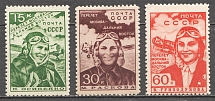 1939 USSR The First Flight From Moscow to the Far East (Full Set)