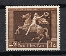 1938 Third Reich, Germany (Mi. 671x, Vertical Gum, Full Set, CV $360, MNH)