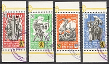1941 Germany Reich Belgian Legion (Full Set, Cancelled)