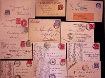 1886-1905, STATES: Selection of 39 covers and cards with strength in Natal and T