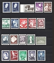 1949-54 Austria Collection (CV $150, Full Sets, MNH/MH)