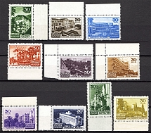 1947 USSR The Soviet Sanatoria (Full Set, Sukhumi - Horizontal Raster, MNH)