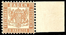 9 kreuzer bright red brown, having bright colors extremely fine copy from