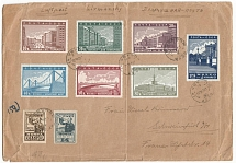 1940 USSR. Airmail. Mailpiece (envelope). Moscow - Germany. 02.17.1940 g 2 full