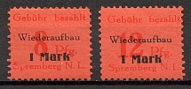 1946 Spremberg Germany Local Post (CV $80, Full Set)