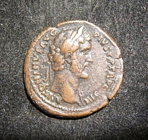 Roman Imperial Antoninus Pius ancient AE As coin similar to RIC III 679; VF