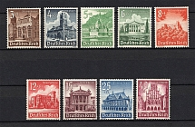 1940 Third Reich, Germany (Full Set, CV $50, MNH)