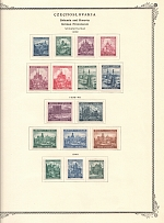 1939-45 Bohemia and Moravia Collection (9 Scans, Full Sets)