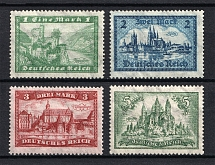 1924 Third Reich, Germany (Mi. 364-367, Signed, Full Set, CV $470, MNH)