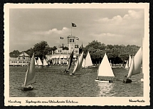 1936 Hamburg Sailing Regatta in front of the Ferry House