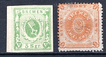BREMEN, Michel no.: 4c MH, Cat. value: 250€