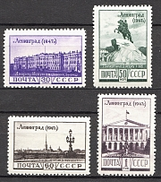 1948 USSR Raisingof the Blocade of Leningrad (Full Set, MNH)