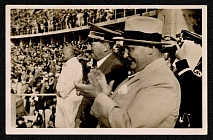 1936 Adolf Hitler and Hermann Goring at Berlin's Olympic Stadium