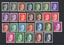 1941-44 Third Reich, Germany (Signed, Full Set, MNH)