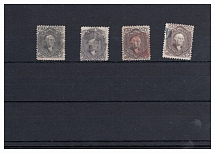 USA, Michel no.: 24 (4) used, Cat. value: 1100€