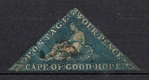 1853-63 Cape of Good Hope, British Colonies (Full Set, Canceled, CV £70)