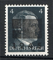 1945 Netzschkau-Reichenbach Germany Local Post 4 Pf (CV $100, Type IIa, MNH)